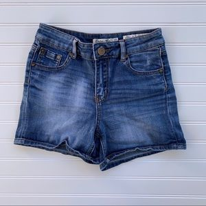 Indigo Rein blue denim shorts